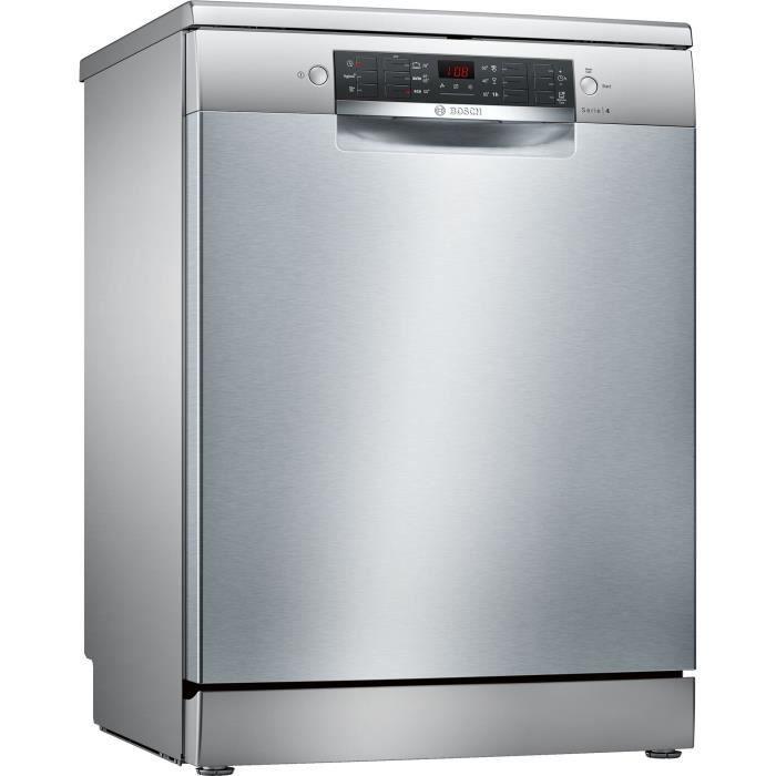 Lave vaisselle posable Bosch SMS46AI01E - 12 couverts, 46 dB, A+, Larg 60cm, Moteur induction