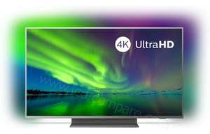 """TV 50"""" Philips 50PUS7504 - UHD4K, Dalle VA, HDR, Android TV, Dolby Vision, Ambilight 3 Côtés + 106€ Super Points)"""