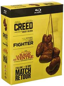 Coffret Blu-ray - Creed + The Fighter + La Rage au Ventre + Match Retour