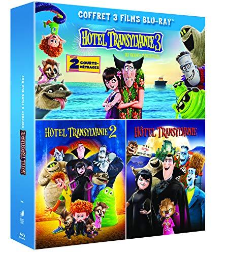 Coffret Blu-ray Hôtel Transylvanie - La Trilogie