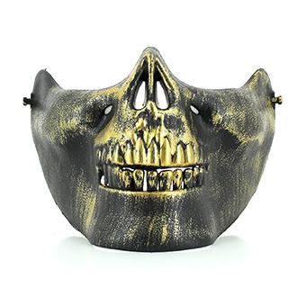 Demi Masque Squelette Halloween - Modèles au choix