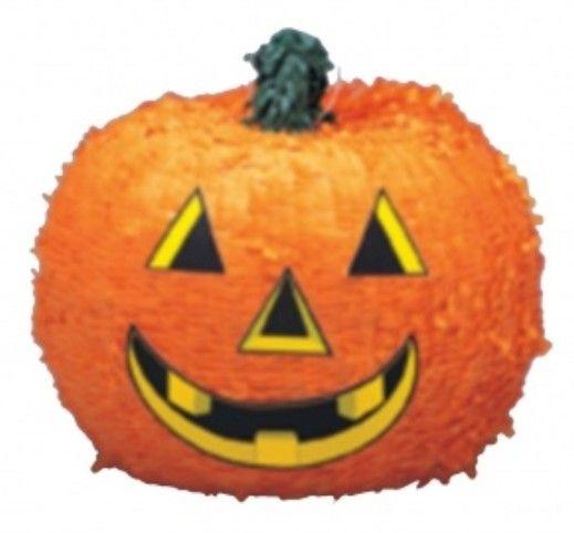 Piñata citrouille Halloween - 32 x 26 cm