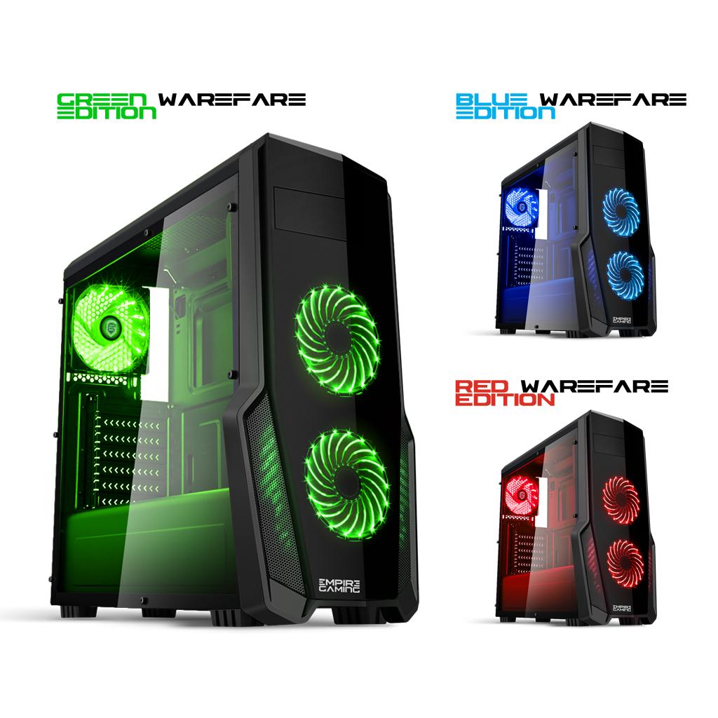 Boîtier PC Empire Gaming Warfare - Coloris au choix (Vendeur Tiers)