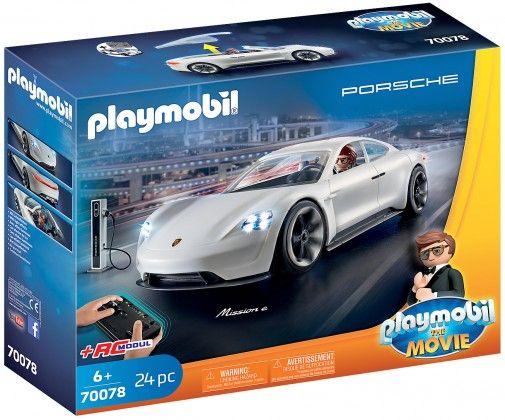 Playmobil The Movie Rex Dasher Porsche Mission E - 70078