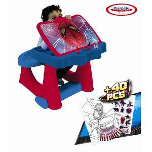 Spiderman - Bureau d'Activité +Set Coloriage 40pcs