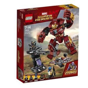 Jeu de construction Lego Marvel Super Heroes - Le combat de Hulkbuster (76104)