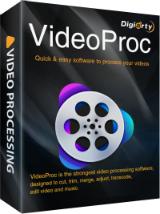 Logiciel VideoProc 3.4 sur Windows et MacOS (Dématérialisé)