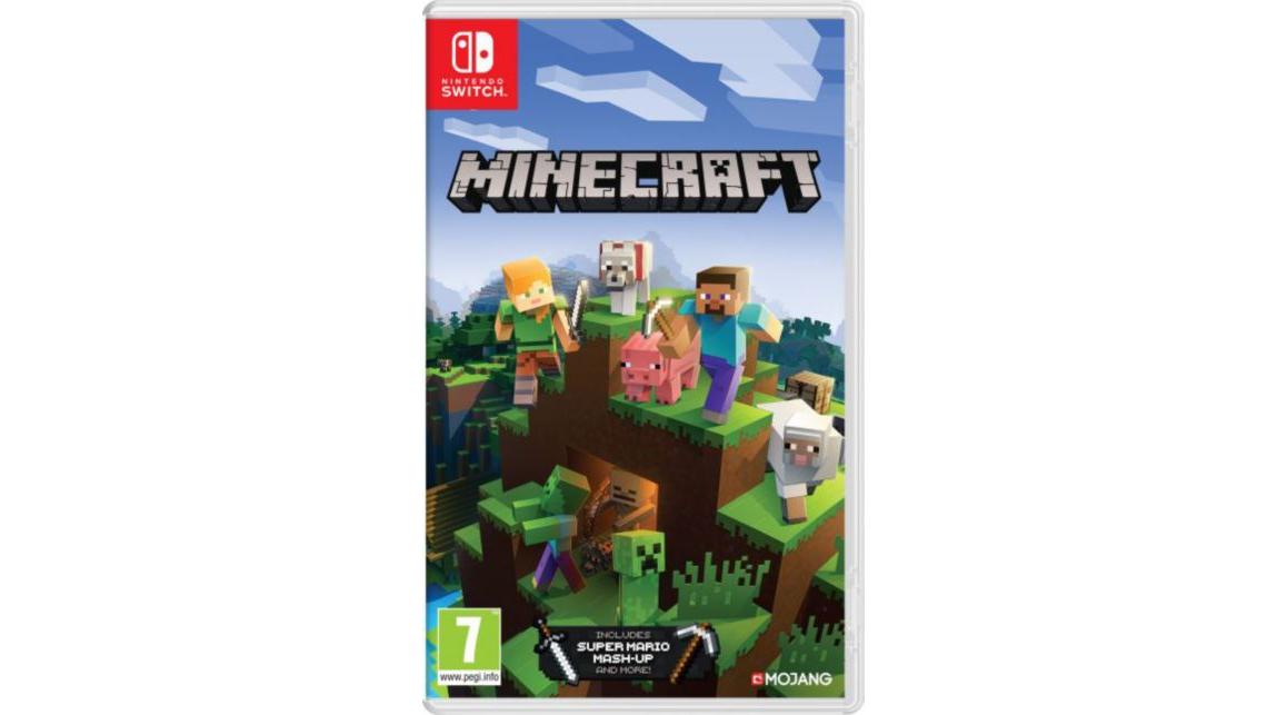 Minecraft sur Nintendo Switch