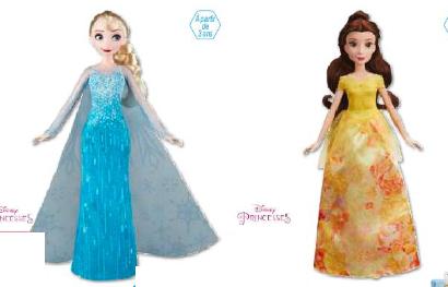 Poupée Disney princesses poussières d'étoiles