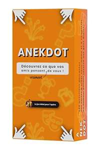 Jeu de Cartes pour apéros / soirées Anekdot - Bayana Club