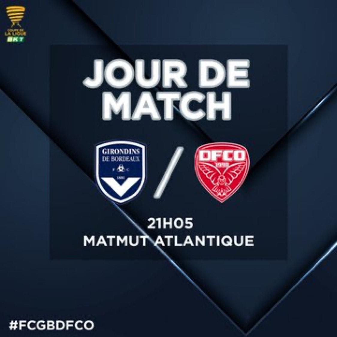 [Abonnés] Billet pour le Match FCGB - Dijon gratuit pour les abonnés (10€ pour les autres) - Matmut Atlantique (33)