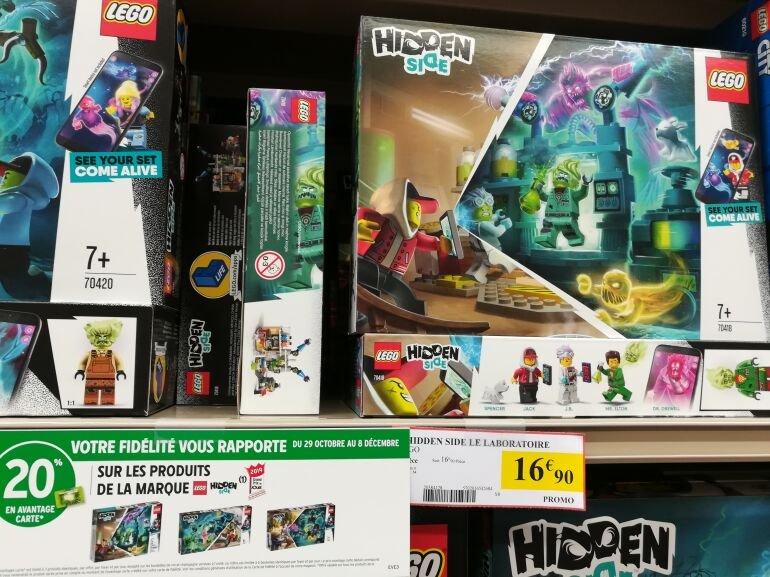 Jeu de construction Lego Hidden Side 70418 (via 3.38€ sur le carte fidélité) - Conches-en-Ouche (27)