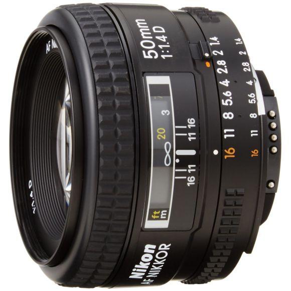 Objectif photo AF Nikkor 50mm f/1.4D (Vendeur Tiers)