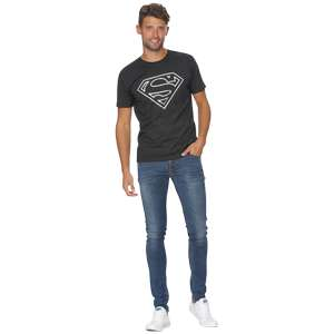T-shirt Batman ou Super Man - Taille S-XL