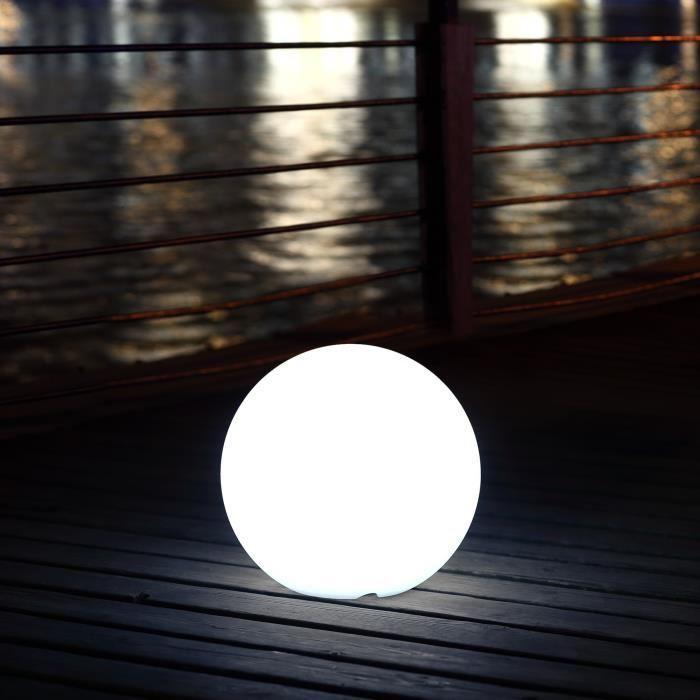 Sphère LED Polaroid télécommandable 30cm