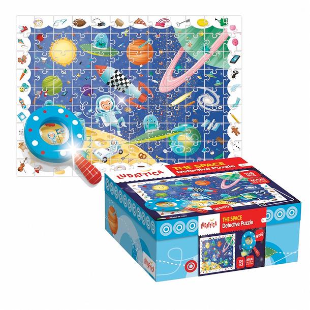Puzzle détective L'espace (boutiquesdemusees.fr)