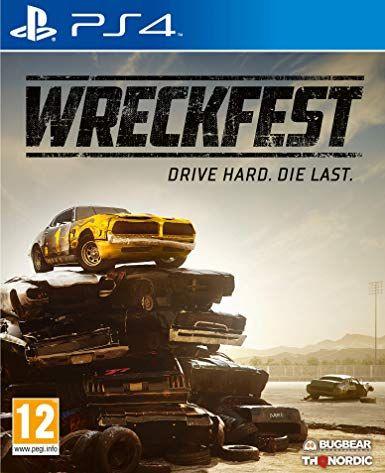 Wreckfest sur PS4 (Vendeur Tiers)