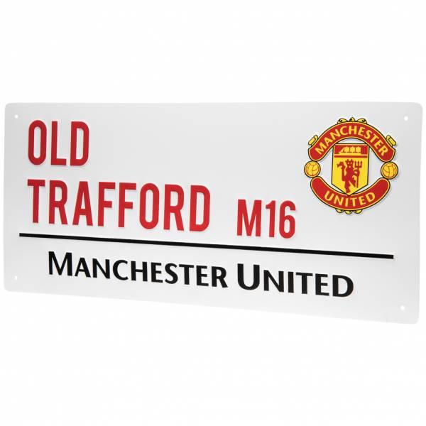 Plaque de rue Manchester United FC Supporter (frais de port inclus)