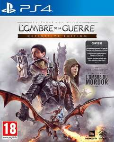 La Terre du Milieu L'Ombre de La Guerre Edition Définitive sur PS4