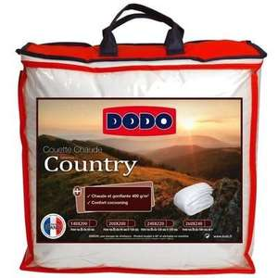Couette chaude Dodo Country - 220 x 240 cm