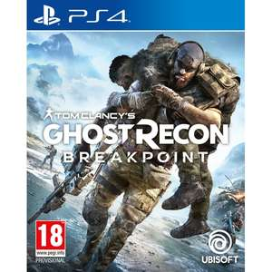 Tom Clancy's Ghost Recon Breakpoint sur PS4