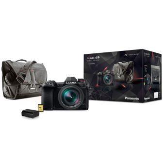 Appareil-photo Hybride Pro Lumix G9 + Objectif Leica 12-60 mm f/2.8-4.0 + Sac Peak Design + Batterie + Carte SD 32 Go (via ODR de 200€)