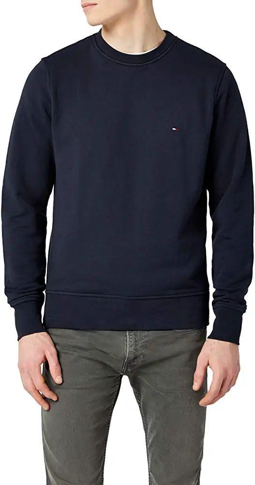 Sweat-shirt Homme Tommy Hilfiger Core Cotton - Tailles au choix