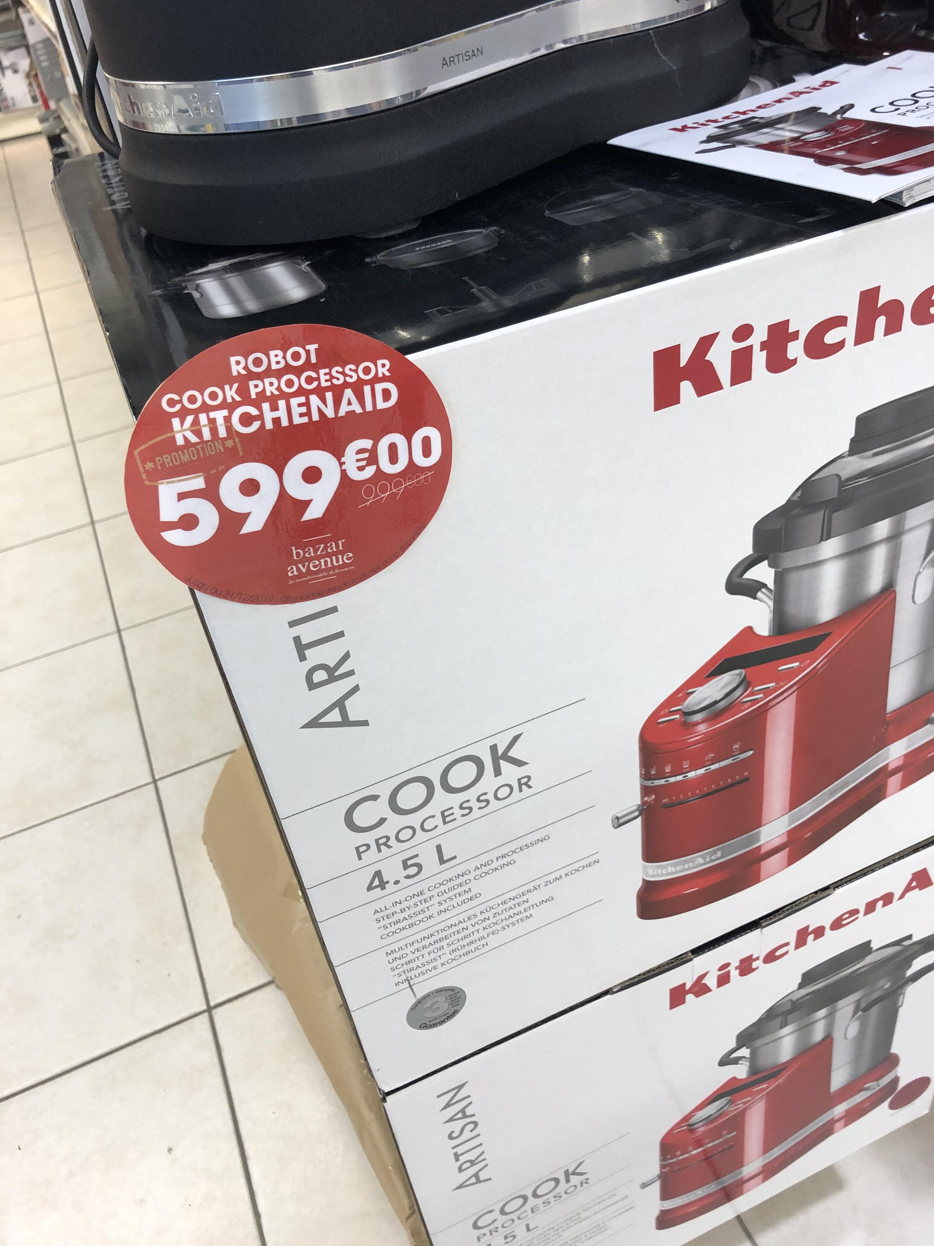 Cuiseur KitchenAid Cook Processor - 4.5 - Bazar Avenue Le Mans (72)