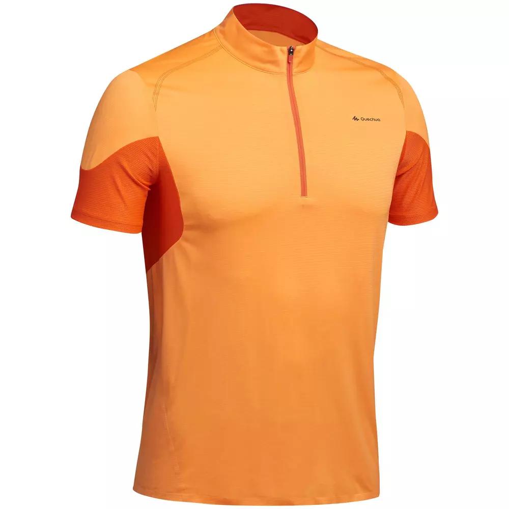 T-Shirt Manches Courtes de Randonné Homme FH500