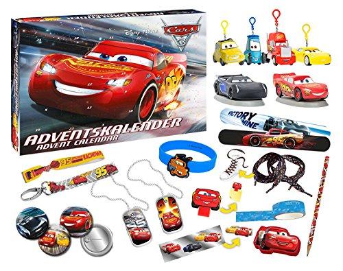 Calendrier de l'Avent Disney Cars 57361