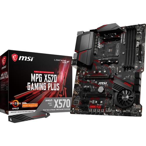Carte Mère MSI MPG X570 Gaming Plus + 30$ en carte cadeau Steam