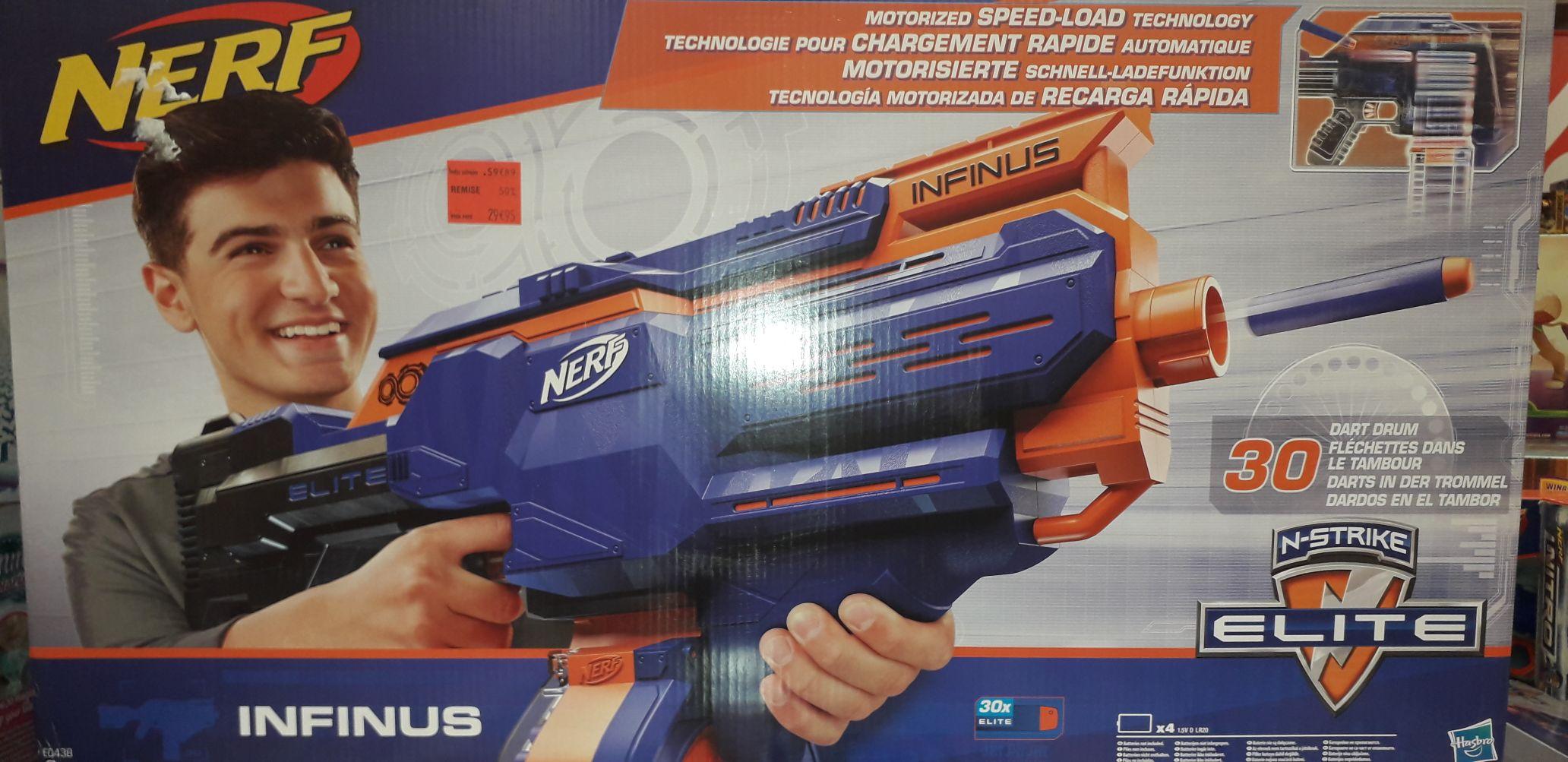 Pistolet à fléchettes Nerf N-Strike Elite Infinus - Vaulx-en-Velin (69)