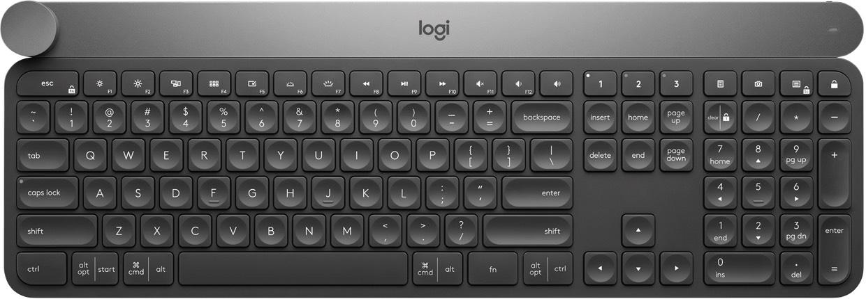 Clavier bluetooth Logitech Craft - Rétroéclairé, compatible Windows et MacOS