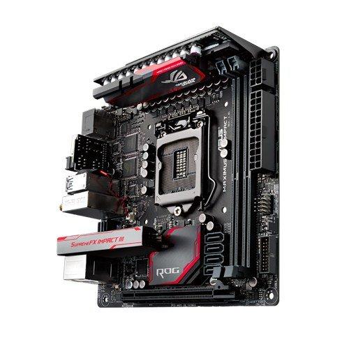 Carte mère Asus Maximus VIII Impact Intel Z170 Mini ITX