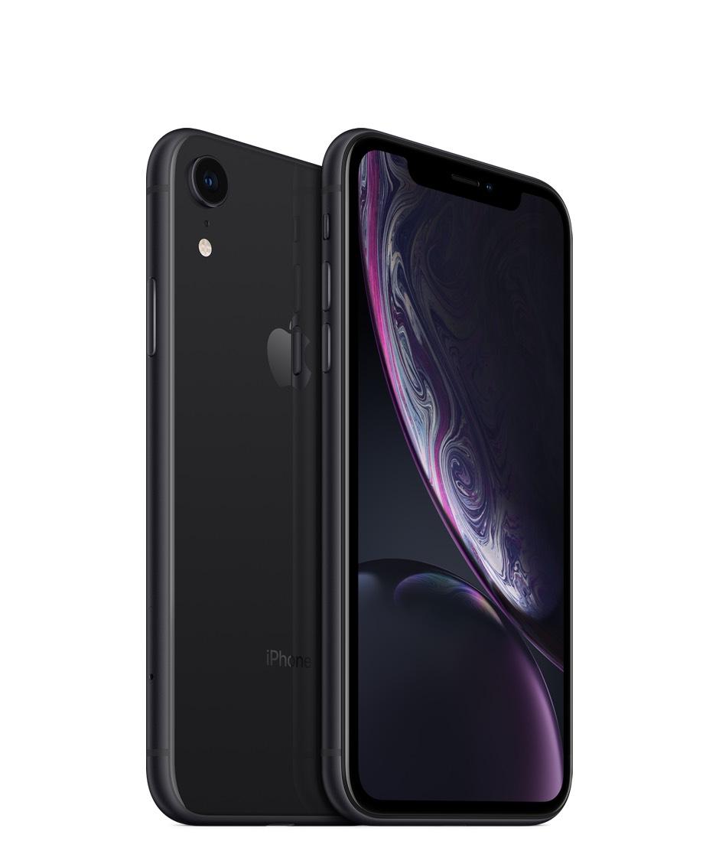 "Smartphone 6.1"" Apple iPhone XR - 64 Go, Noir (Frontaliers Suisse)"