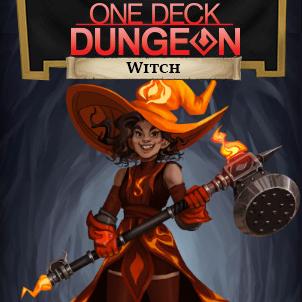 DLC Carte de Héros Witch pour One Deck Dungeon Gratuit sur PC (Dématérialisé)