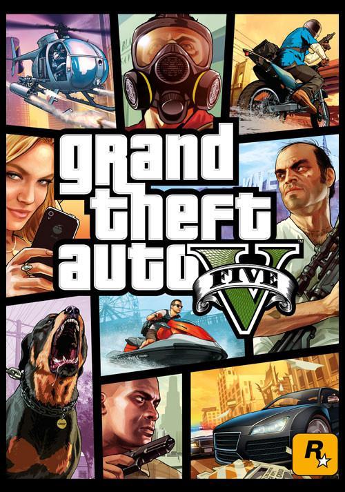 Grand Theft Auto V  sur PC (Dématérialisé - Rockstar Social Club)