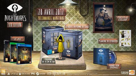 Little Nightmares - Édition Six sur PS4