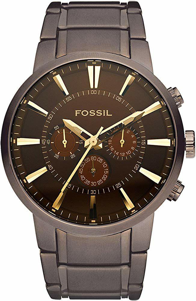 Montre Analogique Quartz Fossil Million Dollar FS4357 - Boîtier 47 mm, 5 ATM