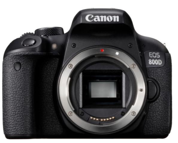 Appareil Photo Numérique Reflex Canon EOS 800D (Boîtier Nu)