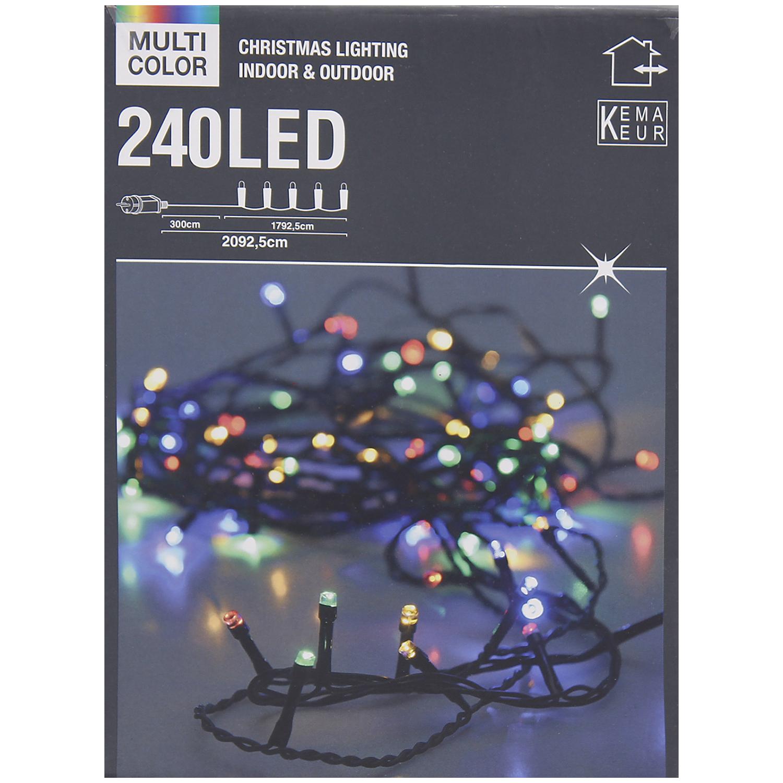 Illumination de Noël multicolore - 20m