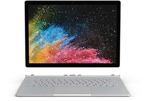 "PC Portable 2-en-1 15"" Microsoft Surface Book 2 (Clavier QWERTZ) - 3240X2160, i7-8650U, RAM 16Go, SSD 256Go, Windows 10 Pro"