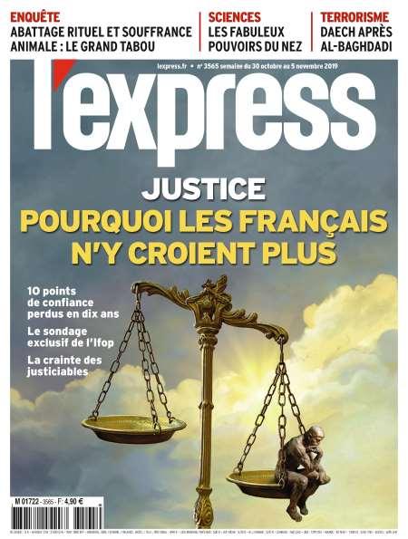 Abonnement de 6 Mois (24 numéros) à l'hebdomadaire L'Express