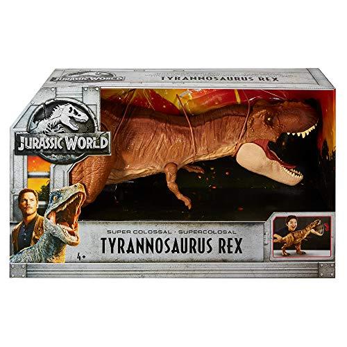 Jouet Jurassic World Super Colossal R-Rex FMM63