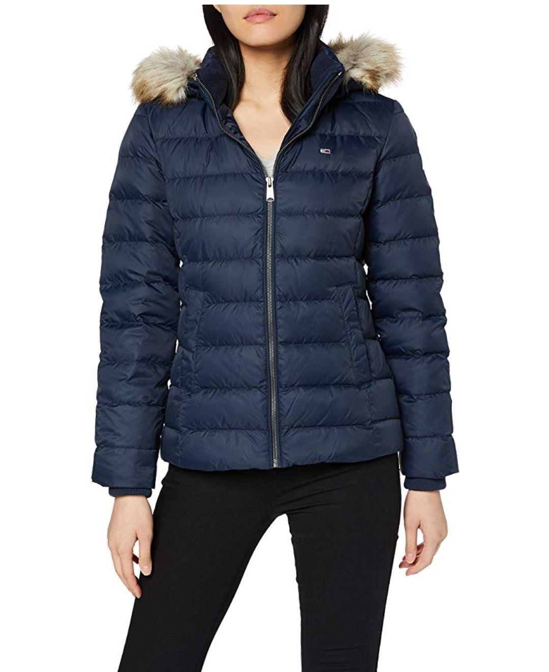 Blouson Femme Tommy Hilfiger Essential Hooded Down Jacket - Plusieurs tailles à partir de 159.48€