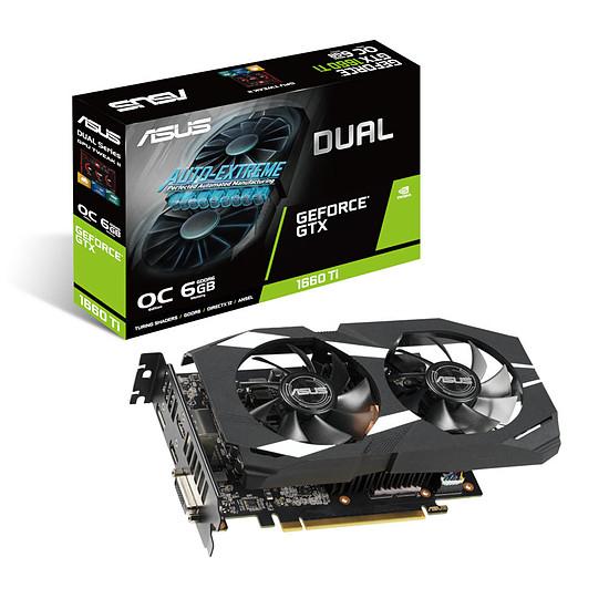 Carte graphique Asus GeForce GTX 1660 Ti Dual O6G - 6 Go