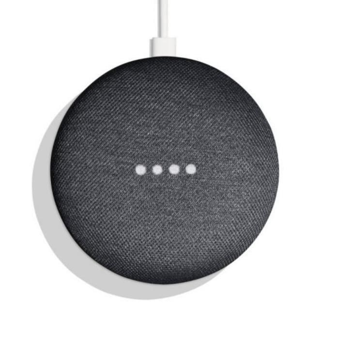 Assistant vocal Google Home Mini - Charbon (Vendeur tiers)