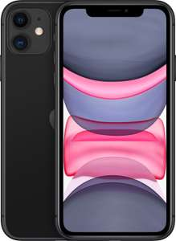 "Smartphone 6.1"" Apple iPhone 11 - HD Retina, A13, 4 Go de RAM, 64 Go, différents coloris"