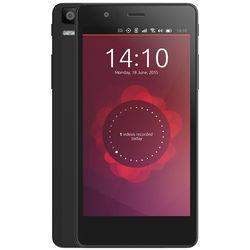 "Smartphone 4.5"" Aquaris E4.5 - Noir, Ubuntu phone"