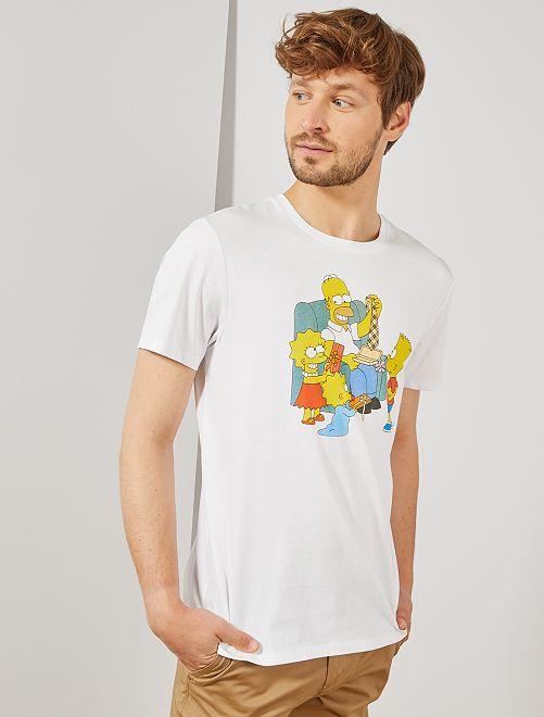 """T-shirt imprimé """"Les Simpson"""" - Différentes tailles"""